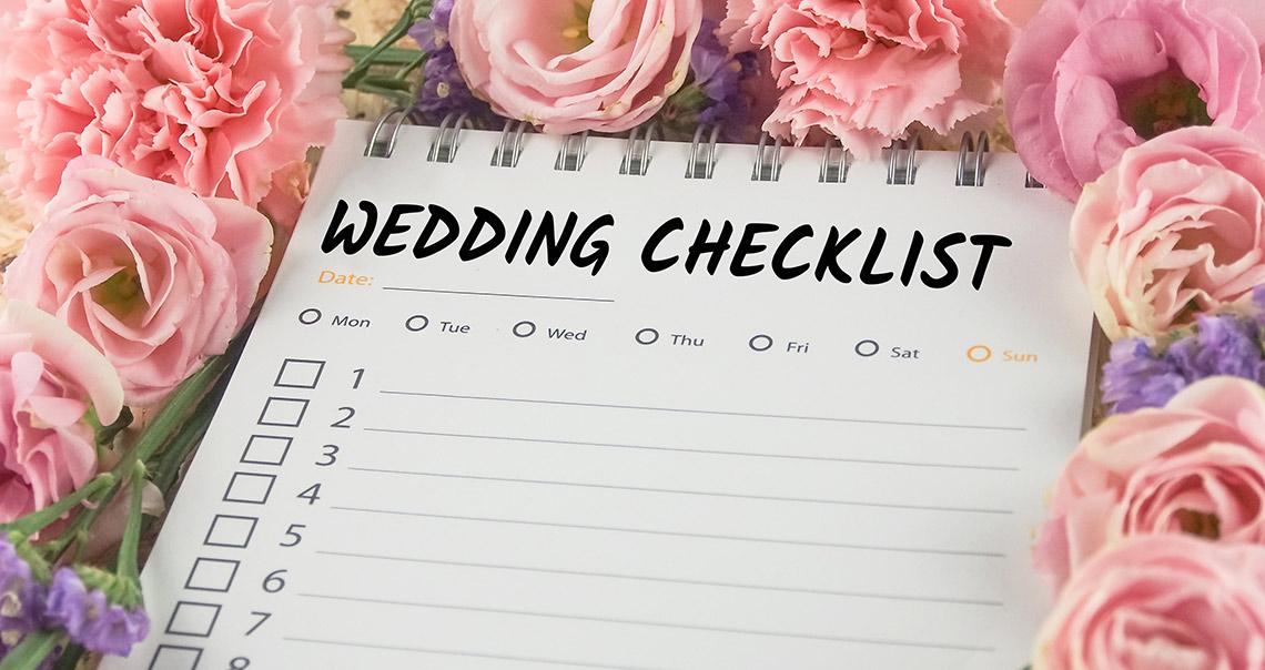 2c677cac2194 Bröllopsplanering - gör en checklista – Dream Bride